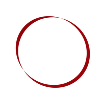 Red Cavern Studios Logo (swirly red circles)